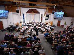 Surrey Police Band in Concert, Stoughton, 2017